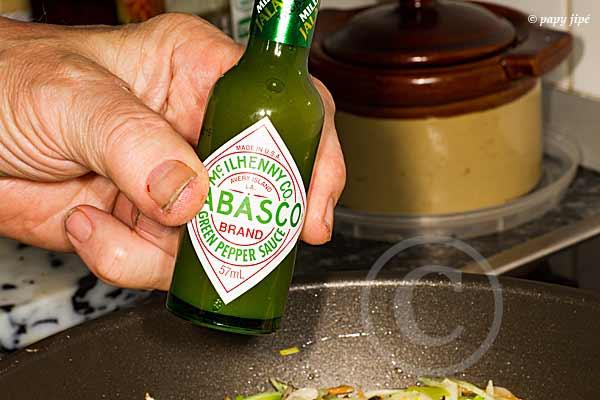 Tabasco vert puissance médium
