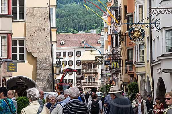 Innsbruck quartier toit d'or1