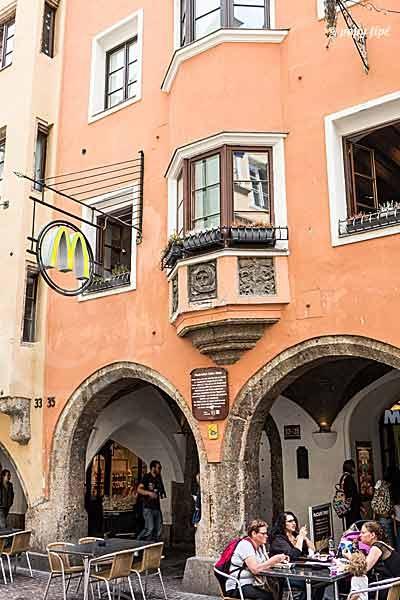 Innsbruck quartier toit d'or8